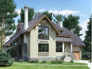 Проекты домов площадью от 150 до 200 кв.м.